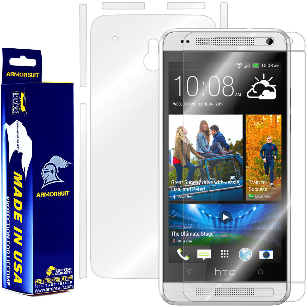 HTC One Mini Screen Protector + Full Body Skin Protector