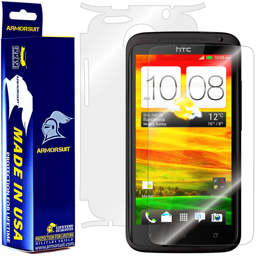 HTC One X Screen Protector + Full Body Skin Protector