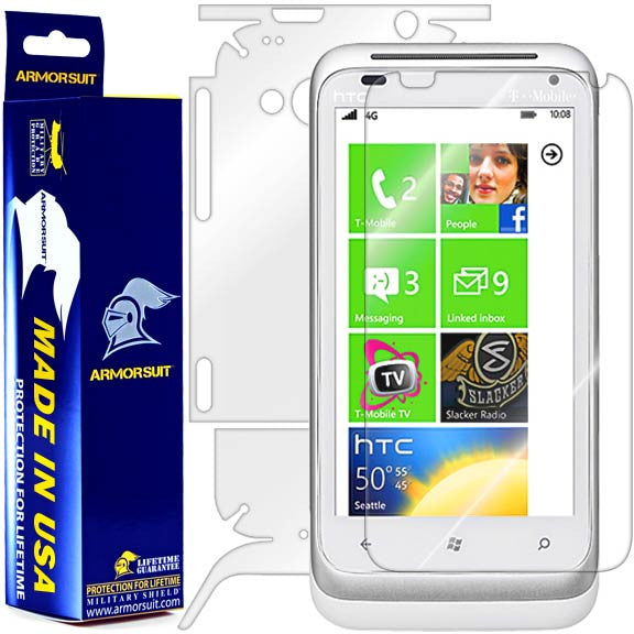 HTC Radar 4G Full Body Skin Protector