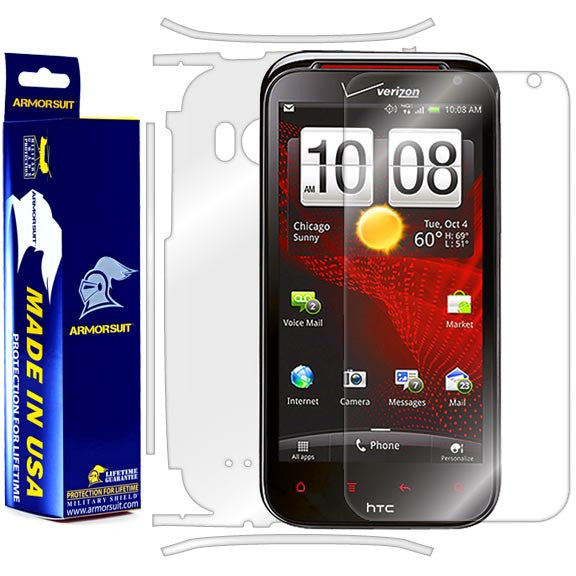 HTC Rezound Full Body Skin Protector