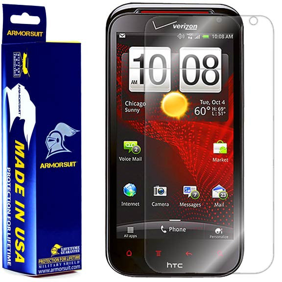 HTC Rezound Screen Protector (Case Friendly)