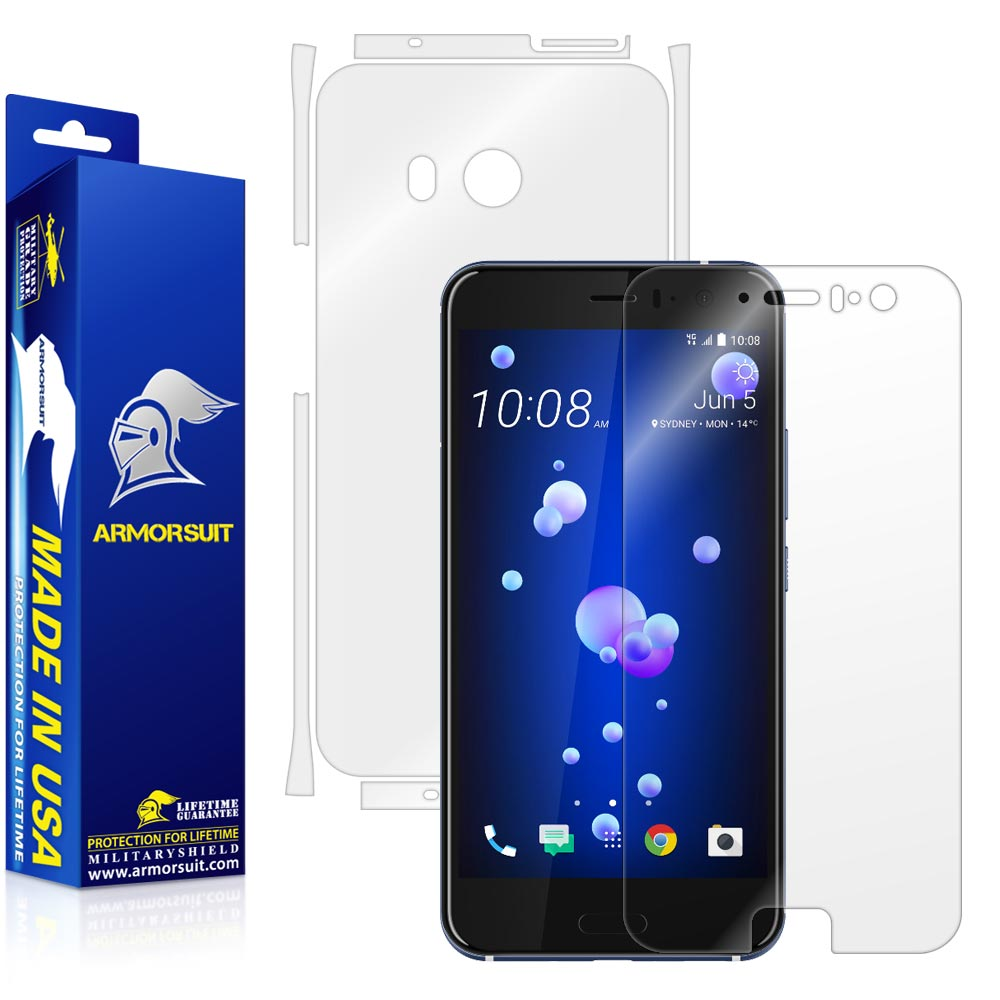HTC U11 Screen Protector + Full Body Skin Protector