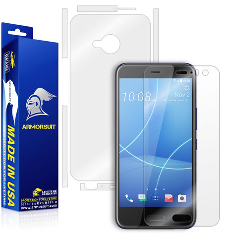 HTC U11 Life Screen Protector + Full Body Skin Protector