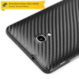 Huawei Ascend Mate2 Screen Protector + Black Carbon Fiber Skin
