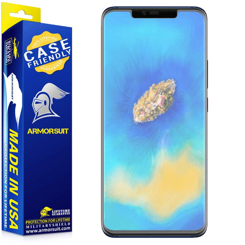 Huawei Mate 20 Pro Matte Case Friendly Screen Protector