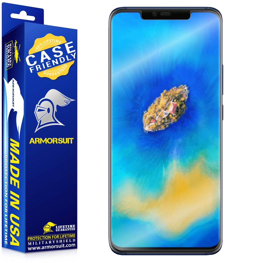 Huawei Mate 20 Pro Case Friendly Screen Protector