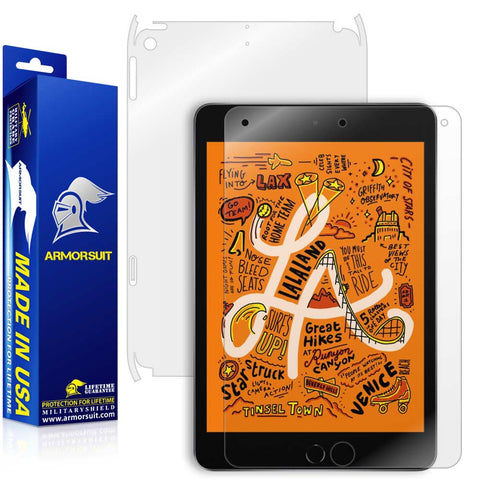 Apple iPad Mini 5 (2019) 4G LTE Screen Protector + Full Body Skin