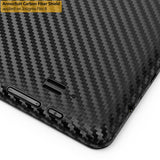 Insignia Flex 8 (NS-14T002) Screen Protector + Black Carbon Fiber Film Protector (Not Compatible with Flex 8 LTE)