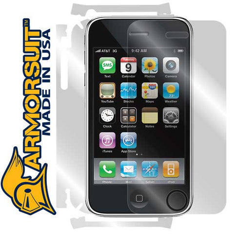 Apple iPhone 3G 3rd Generation Full Body Skin Protector
