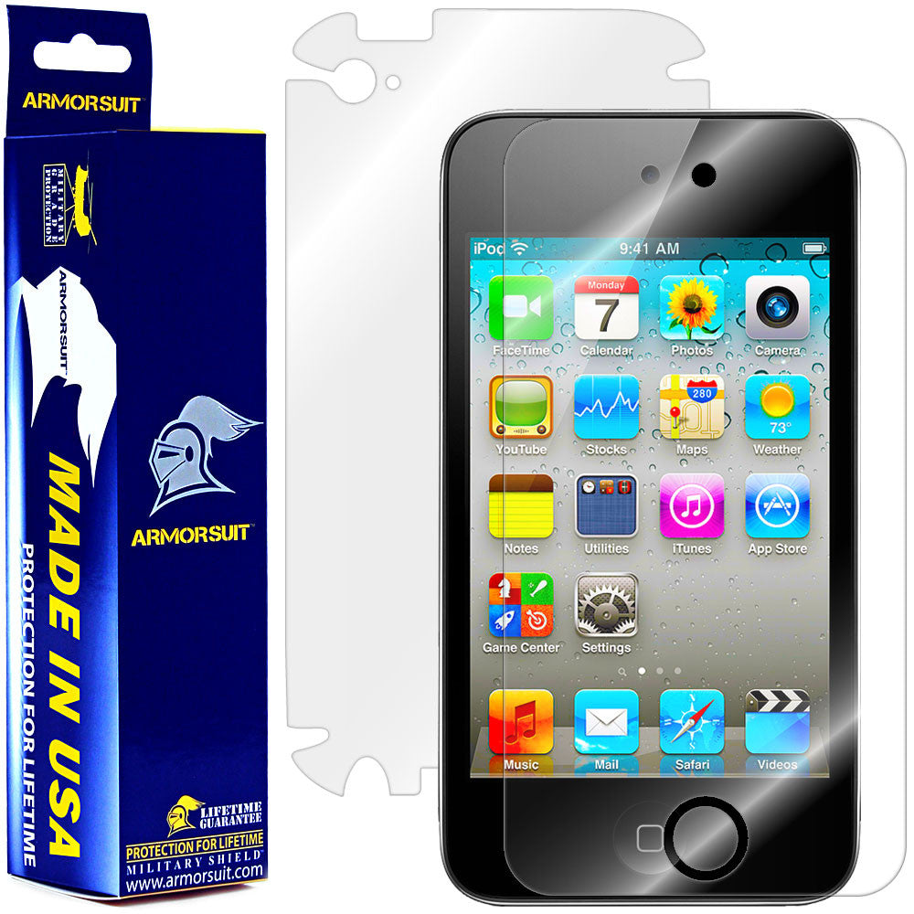 Apple iPod Touch 4G Full Body Skin Protector
