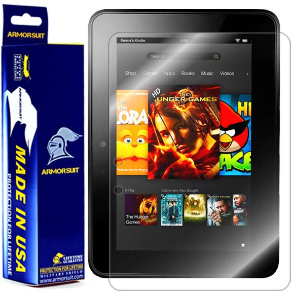 Amazon Kindle Fire HD 7 Inch (2012 First Generation) Screen Protector