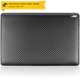 Lenovo Tab A10 Screen Protector + Black Carbon Fiber Film Protector