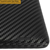 Lenovo A2107 Screen Protector + Black Carbon Fiber Skin
