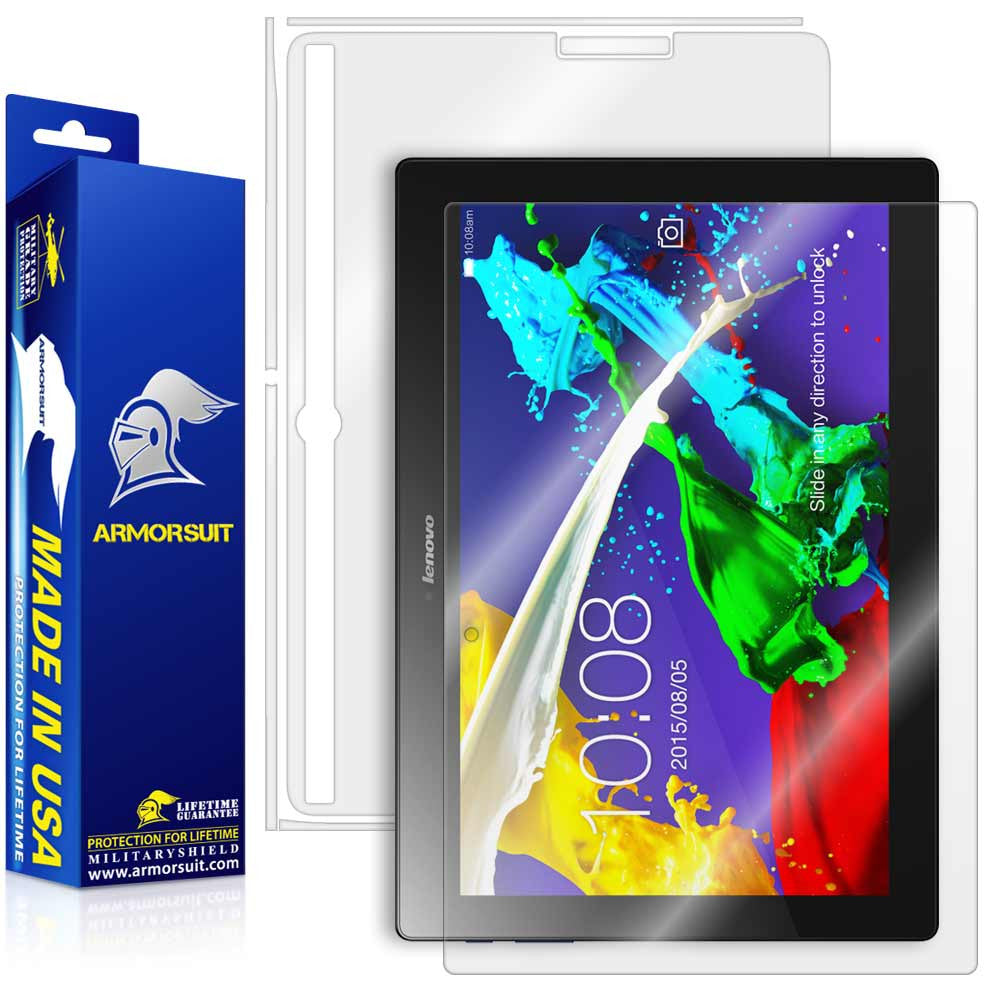 Lenovo Tab 2 A10 Screen Protector + Full Body Skin Protector