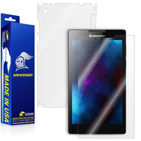 Lenovo Tab 2 A7 Screen Protector + Full Body Skin Protector