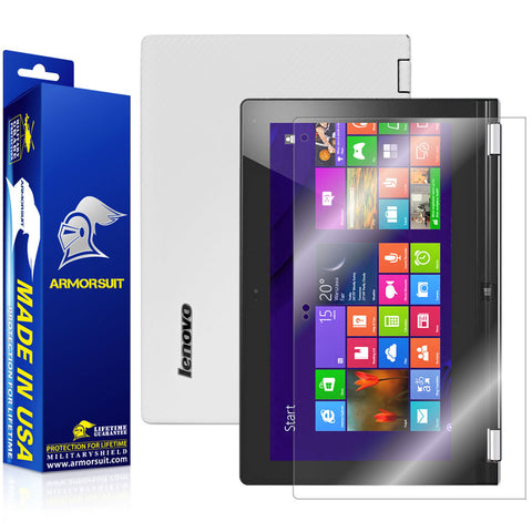Lenovo Yoga 11S Screen Protector + White Carbon Fiber