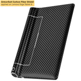 "Lenovo Yoga Tablet 8"" Screen Protector + Black Carbon Fiber Film Protector"