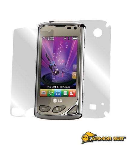 LG Chocolate Touch VX8575 Easy Installation Full Body Skin Protector