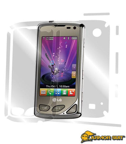 LG Chocolate Touch VX8575 Full Body Skin Protector