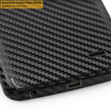 LG G Flex Screen Protector + Black Carbon Fiber Film Protector