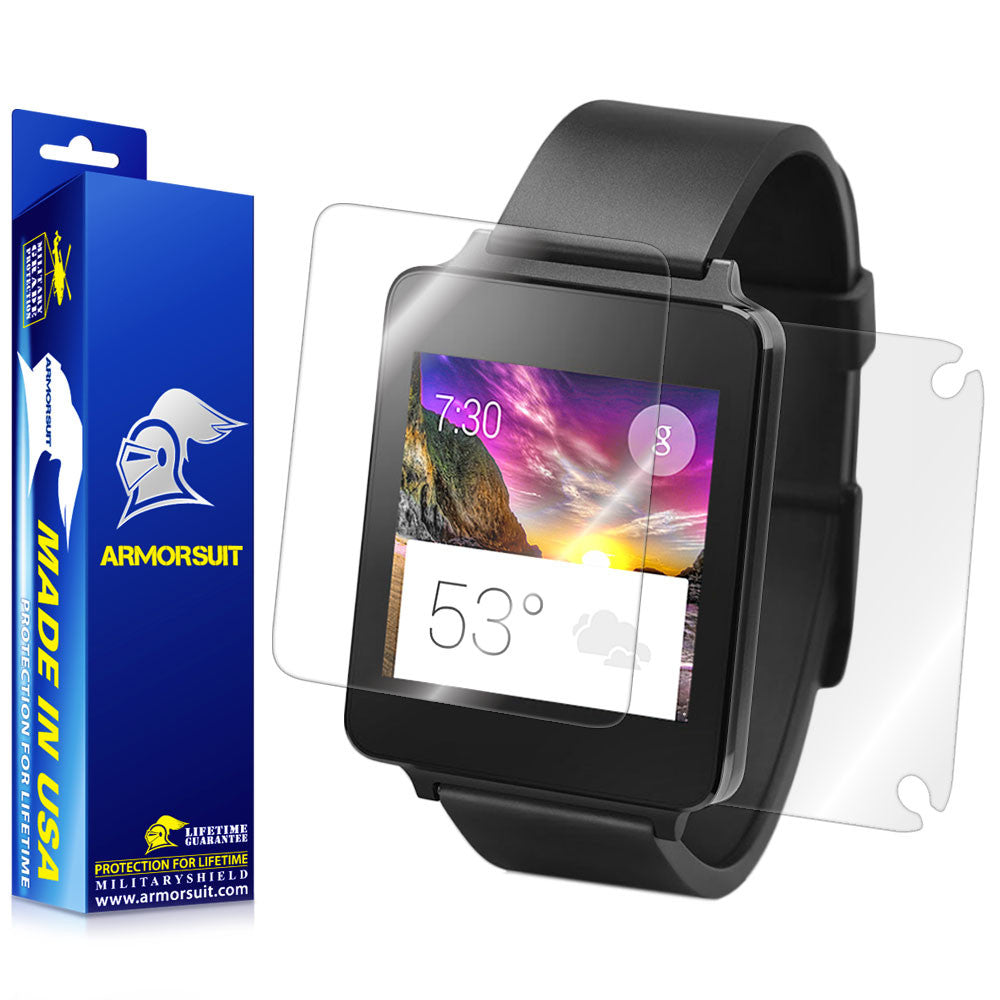 LG G Watch Full Body Skin Protector