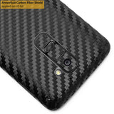 LG G2 Screen Protector + Black Carbon Fiber Film Protector