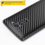 LG G3 Vigor Screen Protector + Black Carbon Fiber Film Protector