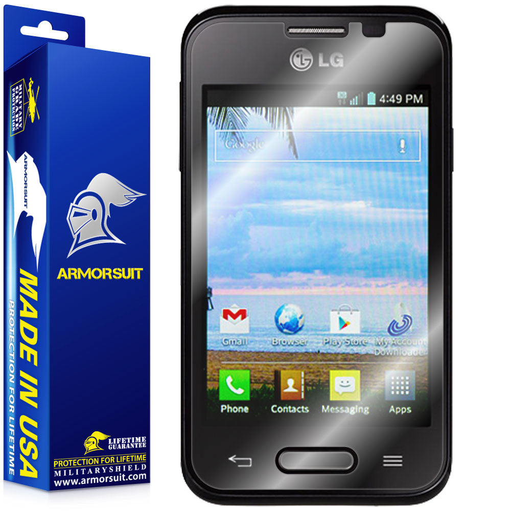 LG Optimus Fuel L34C Screen Protector (Case-Friendly)