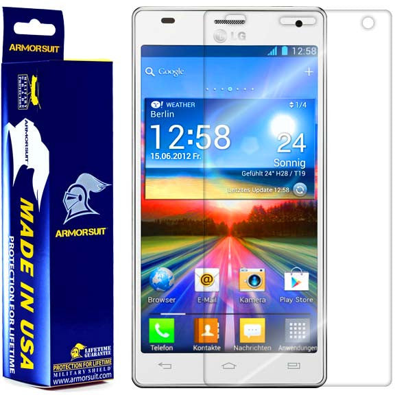 LG Optimus 4X HD Screen Protector