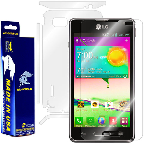 LG Optimus F3 (LS720 / VM720) (Virgin Mobile / Sprint) Full Body Skin Protector