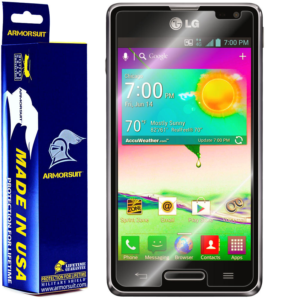LG Optimus F3 (LS720 / VM720) (Virgin Mobile / Sprint) Screen Protector (Case Friendly)