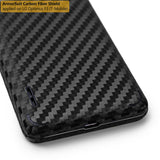 LG Optimus F3 (MS659) (MetroPCS / T-Mobile) Screen Protector + Black Carbon Fiber Film Protector