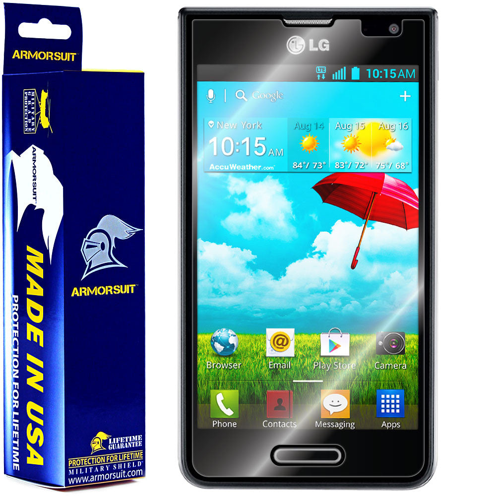 LG Optimus F3 (MS659) (MetroPCS / T-Mobile) Screen Protector (Case Friendly)