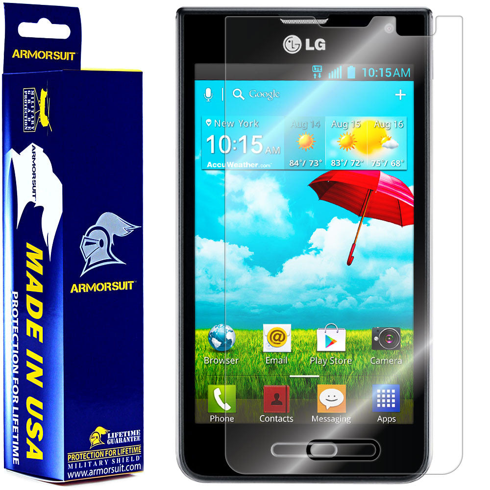 LG Optimus F3 (MS659) (MetroPCS / T-Mobile) Screen Protector
