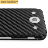 LG Optimus G Pro Screen Protector + Black Carbon Fiber Film Protector