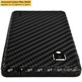 LG Optimus G (Sprint) Screen Protector + Black Carbon Fiber Film Protector