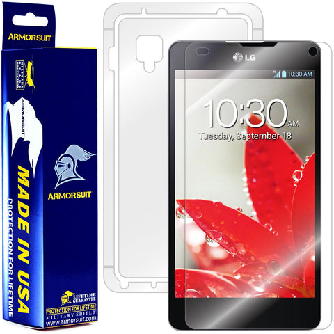 LG Optimus G (Sprint) Full Body Skin Protector