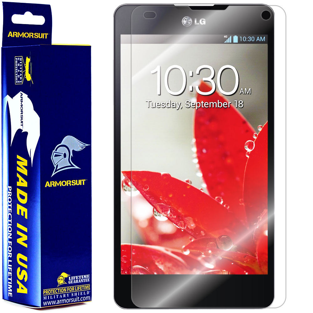 lowest price 30923 72a1d LG Optimus G (Sprint) Screen Protector (Case Friendly) - ArmorSuit