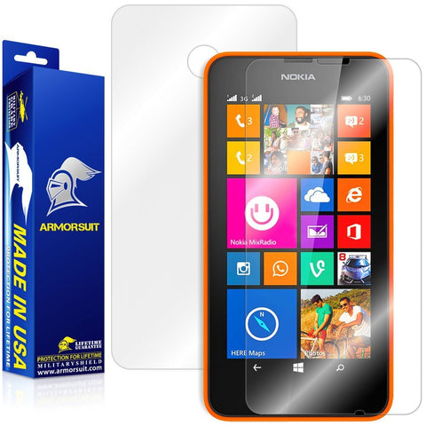 Nokia Lumia 630 / 635 Full Body Skin Protector