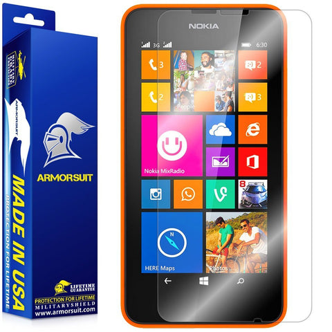 Nokia Lumia 630 / 635 Screen Protector [Case Friendly]