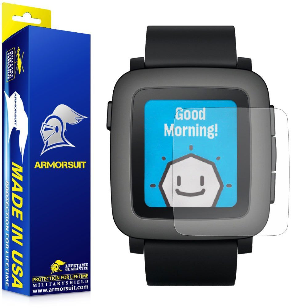 Pebble Time Anti-Glare (Matte) Screen Protector [2-Pack]