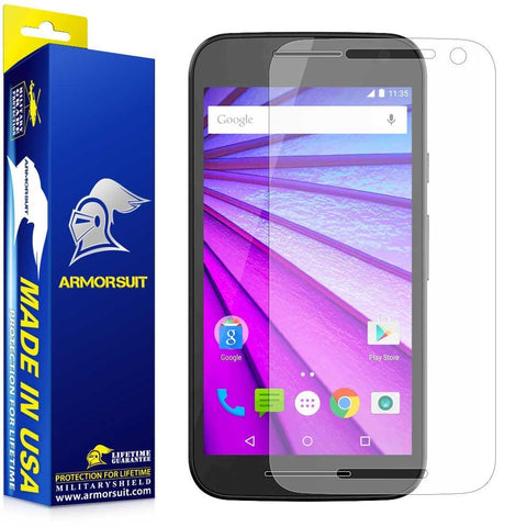 Motorola Moto G (3rd Generation 2015) Anti-Glare (Matte) Screen Protector