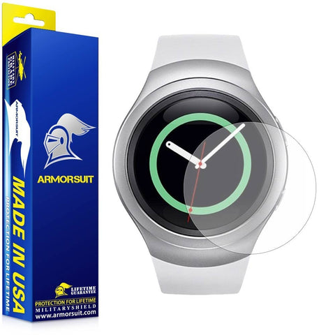Samsung Gear S2 Anti-Glare (Matte) Screen Protector (2-pack)