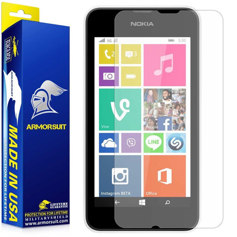Nokia Lumia 530 Anti-Glare (Matte) Screen Protector
