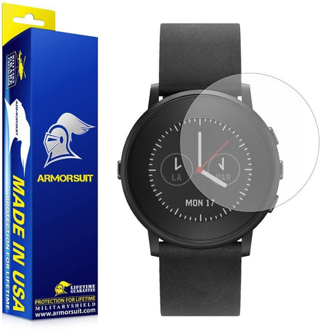Pebble Time Round Matte 14mm/20mm Screen Protector (2-Pack)