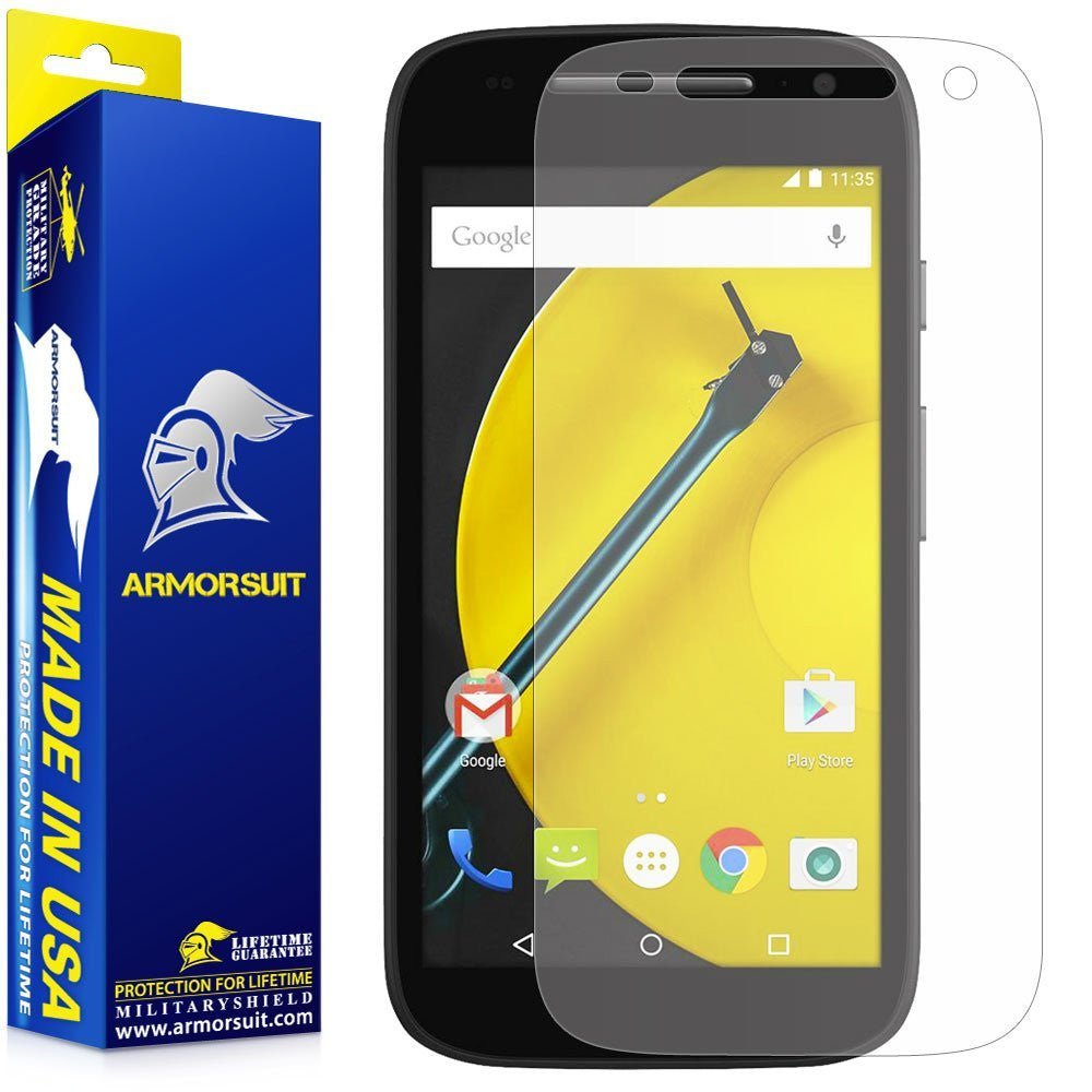 Motorola Moto E (2nd Gen, 2015) Anti-Glare (Matte) Screen Protector