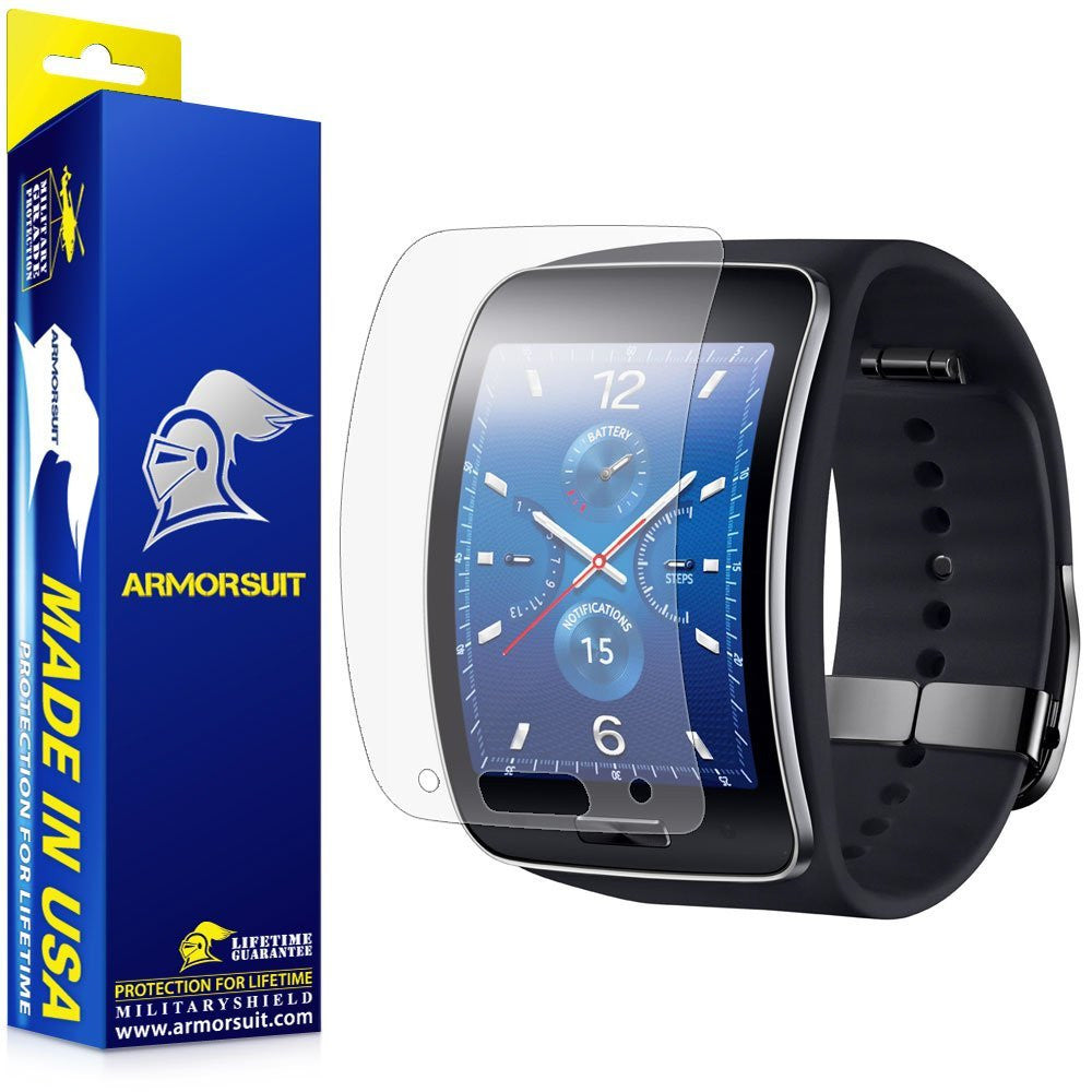Samsung Gear S Anti-Glare (Matte) Screen Protector [2-Pack]