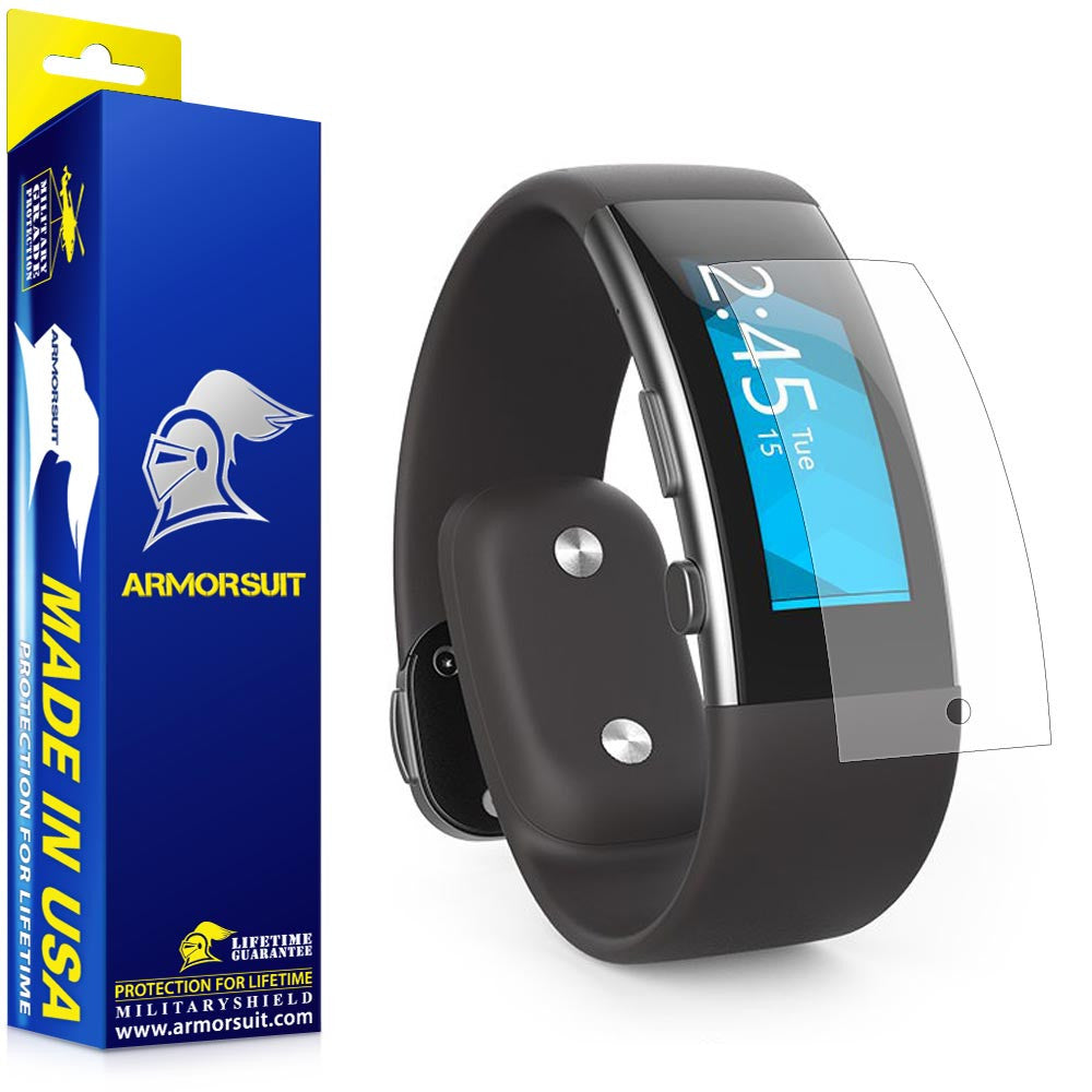 Microsoft Band 2 Anti-Glare (Matte) Screen Protector (2-pack)
