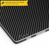 Microsoft Surface Book Screen Protector + Black Carbon Fiber Full Body Skin Protector  (Tablet Only)