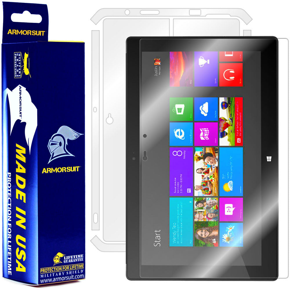 Microsoft Surface Windows 8 Pro Full Body Skin Protector